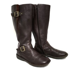 Born Brown Riding Boots Women's size 8